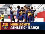 [HIGHLIGHTS] FUTBOL FEM (Liga): Athletic Club - FC Barcelona (1-2)