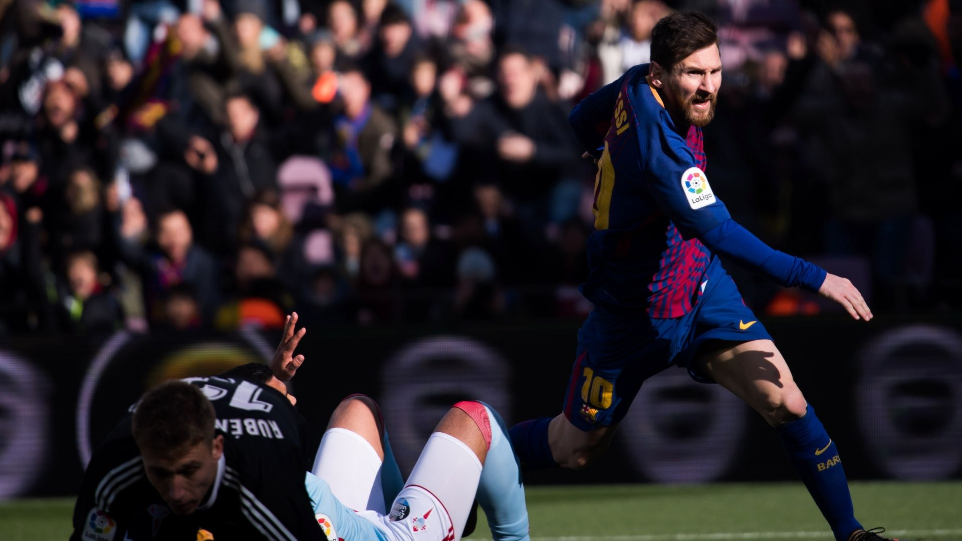 La Liga: Barca held by Celta; Atletico win