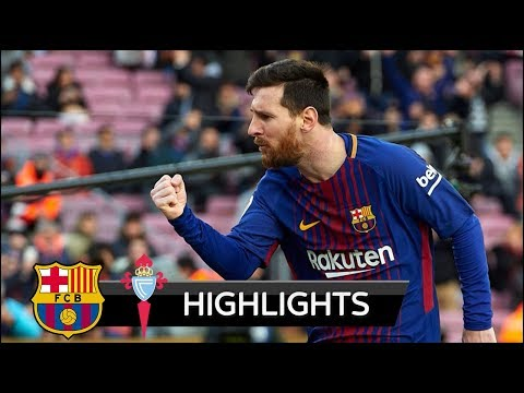 Barcelona vs Celta Vigo 2-2 - All Goals & Extended Highlights - La Liga 02/12/2017 HD
