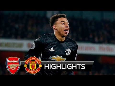 Arsenal vs Manchester United 1-3 - All Goals & Extended Highlights - Premier League 02/12/2017 HD