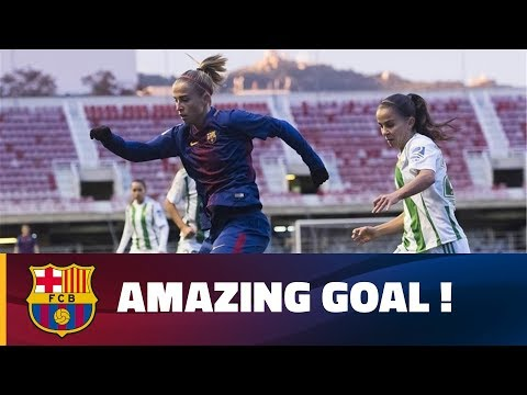 Bárbara Latorre's wonder strike against Betis