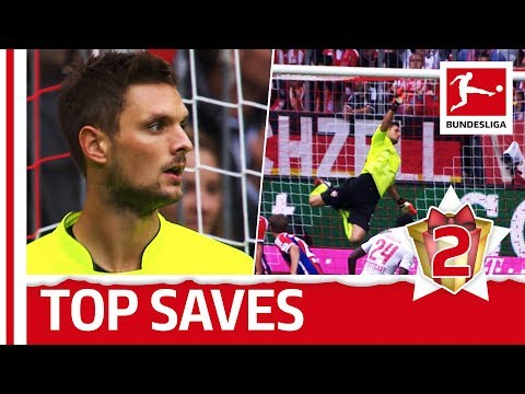 Sven Ulreich - Top 5 Saves - Bundesliga Advent Calendar 2
