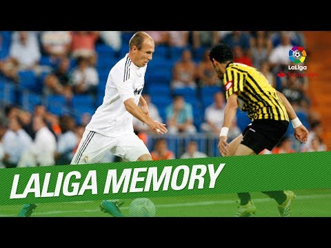 LaLiga Memory: Arjen Robben Best Goals and Skills