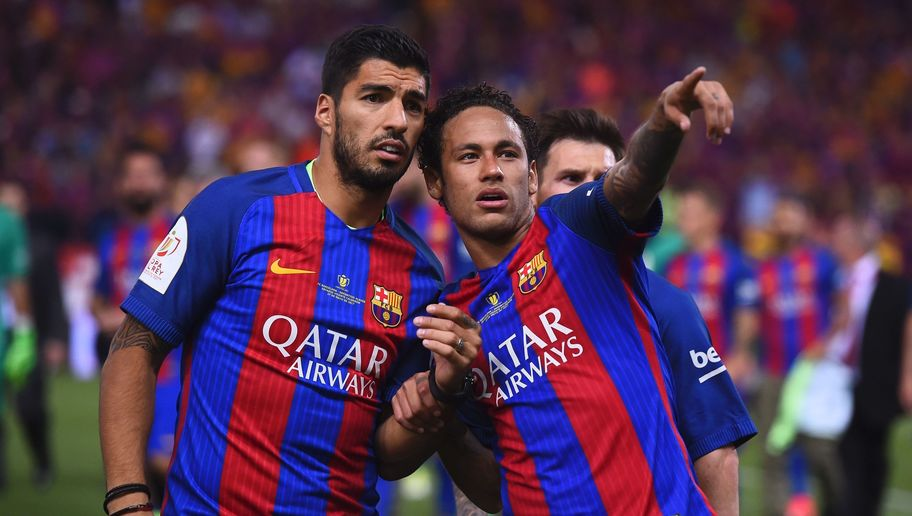 Barcelona Striker Luis Suarez Insists Former Teammate Neymar Will Not Join Real Madrid