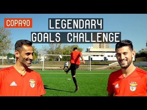 Benfica Legendary Goals Challenge ft Jonas & Pizzi | European Nights