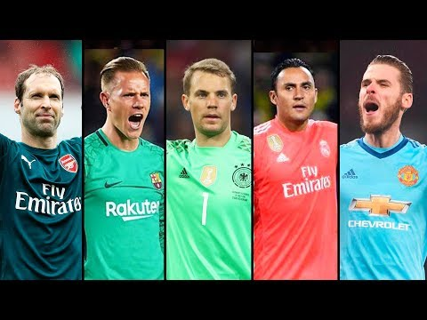 Unbelievable Goalkeeper Saves 2017-2018 ? HD