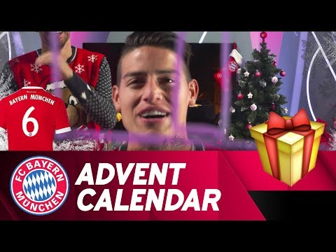 Drawing w/ James Rodríguez | FC Bayern Xmas Advent Calendar #6