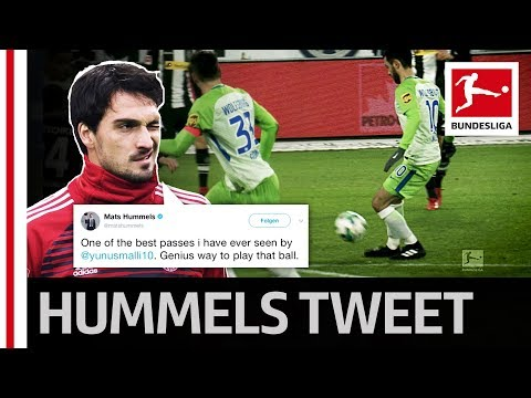 Hummels Praises Magical Pass from Wolfsburg's Malli