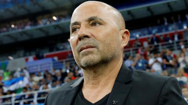 Jorge Sampaoli: Argentina 'mutually agree' to terminate manager's contract