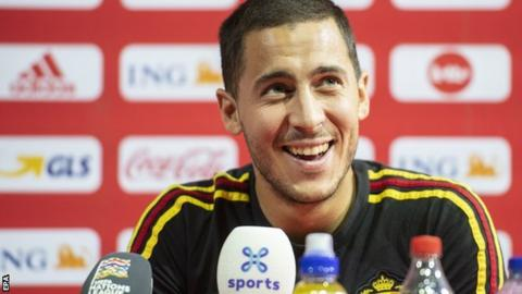 Eden Hazard: Chelsea forward rules out January switch to Real Madrid