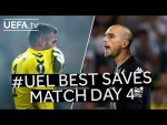 MCGREGOR, PAU LÓPEZ, #UEL BEST SAVES: Match Day 4