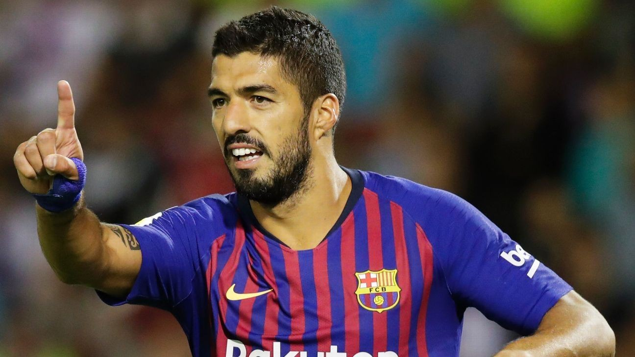 Barcelona's Luis Suarez, Arthur back in training; Malcom out for 2 weeks