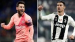 Cristiano Ronaldo challenges Lionel Messi to join him in Serie A