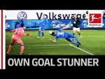 Diving Header Fail - Hoffenheim Concede Spectacular Own Goal