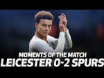 MOUSSA SISSOKO'S WATER FIGHT! | MOMENTS OF THE MATCH | Leicester 0-2 Spurs
