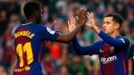 Barcelona's Dembele, Coutinho dilemma an 'advantage' - Valverde