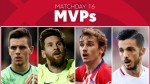 Vote for the MVP of Matchday 16 in LaLiga Santander