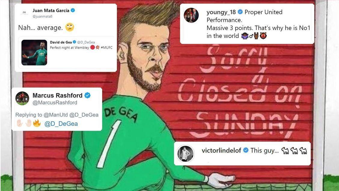 Man United stars praise David De Gea -- but is he the club's best ever keeper?