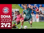 2 vs 2 Matches in Training |FC Bayern in Doha