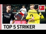 Top 5 Strikers 2018/19 So Far - Alcacer, Lewandowski & Co.
