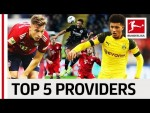 Top 5 Providers 2018/19 So Far - Sancho, Kimmich & Co.