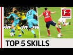 Top 5 Skills 2018/19 So Far - Thiago, Lewandowski, Sancho & Co