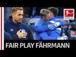 Fährmann's Tears and Great Fair Play - Schalke Fans Hail Their Keeper