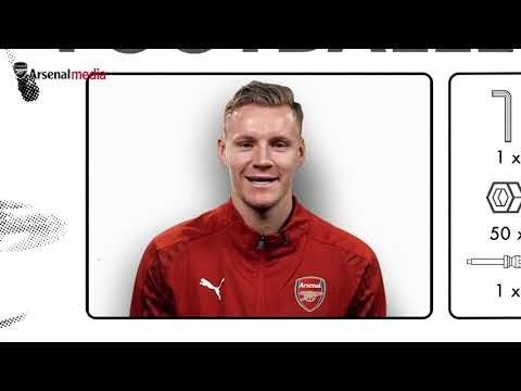 Bernd Leno builds his perfect player | Flat pack footballer: Episode 1