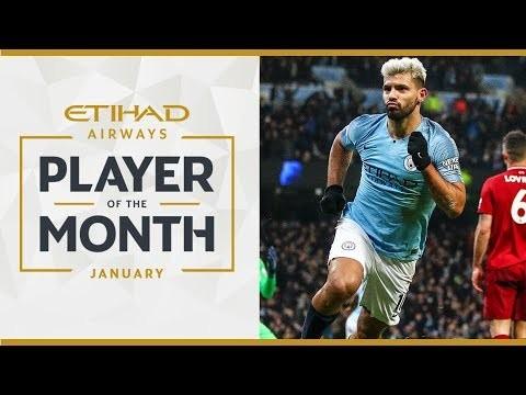 ETIHAD PLAYER OF THE MONTH | Sergio Aguero | January