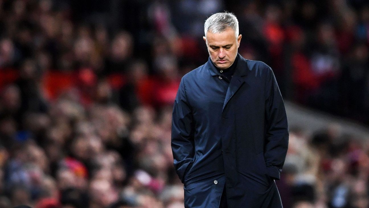 Manchester United sacking Mourinho cost £19.6m, financial figures reveal