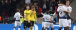 Dortmund made to pay for inexperience by ruthless Tottenham at Wembley