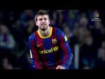 Gerard Piqué: 300 partidos con el FC Barcelona en LaLiga Santander