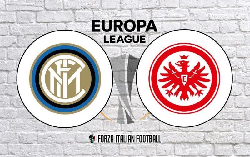 Inter v Eintract Frankfurt: Official Line-Ups