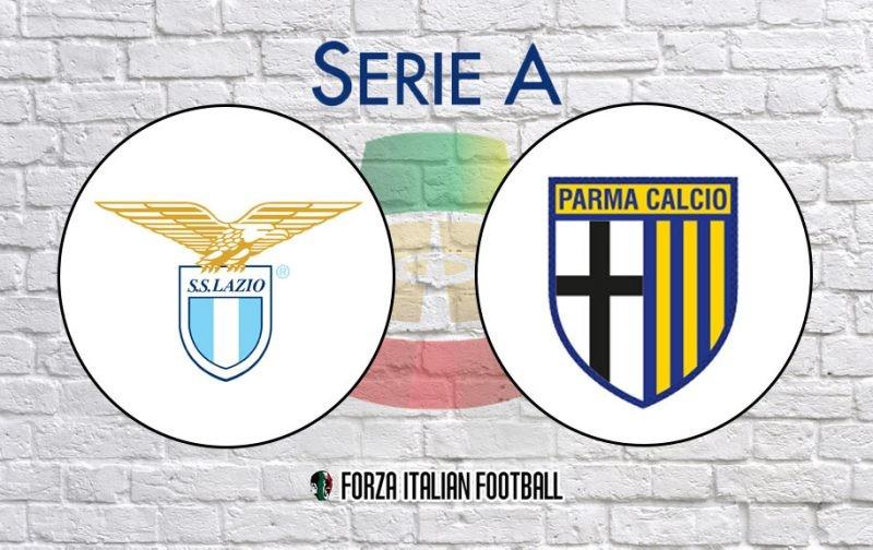 Lazio v Parma: Official Line-Ups