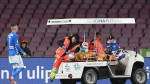 Napoli's Ospina thanks fans after release from hospital following pitch collapse