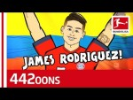 James Rodriguez Goal Celebration Song - Powered By 442oons