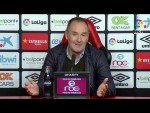 Rueda de prensa de Víctor Fernández tras el RCD Mallorca vs Real Zaragoza (3-0)