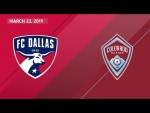 FC Dallas vs. Colorado Rapids | HIGHLIGHTS - March 23, 2019