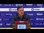 Rueda de prensa de Cristóbal Parralo tras el AD Alcorcón vs Málaga CF (1-4)