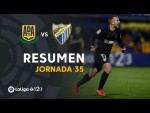 Resumen de AD Alcorcón vs Málaga CF (1-4)