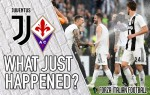 VIDEO: Juventus 2-1 Fiorentina – It's over when the Old Lady sings