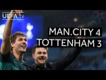 MANCHESTER CITY 4-3 TOTTENHAM #UCL HIGHLIGHTS