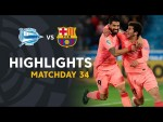 Highlights Deportivo Alavés vs FC Barcelona (0-2)