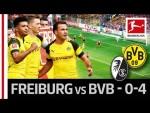 SC Freiburg vs. Borussia Dortmund I 0-4 I Sancho, Reus, Götze & Alcacer Score in Goalfest