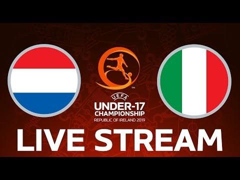 Netherlands vs. Italy: Under-17 EURO LIVE!