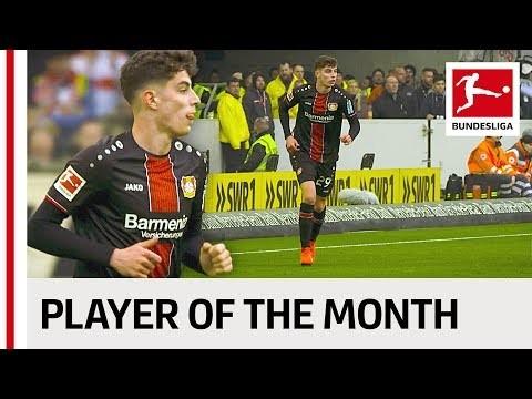 Bayer Leverkusen's Kai Havertz - Your Player of the Month April!
