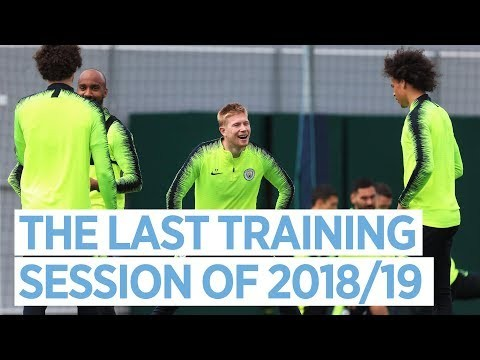 THE LAST TRAINING SESSION OF 2018/19 | PRE-FA CUP FINAL