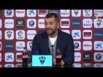 Rueda de prensa de Diego Martínez tras el Albacete BP vs Granada CF (0-1)