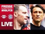 LIVE 🔴 | FC Bayern Pressekonferenz mit Neuer & Kovac vor dem DFB-Pokalfinale gegen RB Leipzig