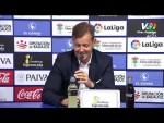 Rueda de prensa de Manuel tras el Extremadura UD vs CD Lugo (0-0)